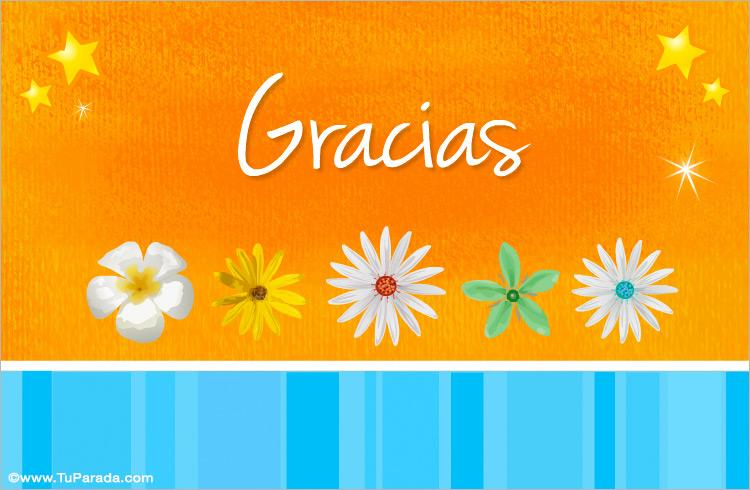 tarjeta de agradecimiento gracias tarjetas