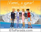 Tarjetas, postales: Juegos Olímpicos