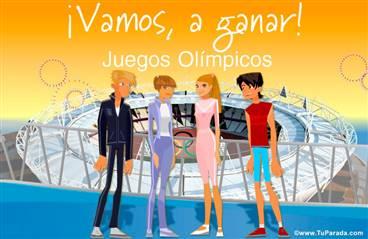 Tarjeta de Juegos Olímpicos