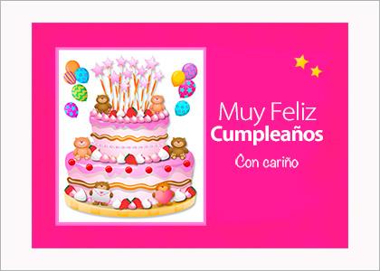 Tarjeta de cumpleaños especial