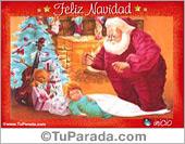 Tarjeta de Feliz Navidad