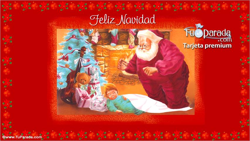 Tarjeta - Tarjeta de Feliz Navidad