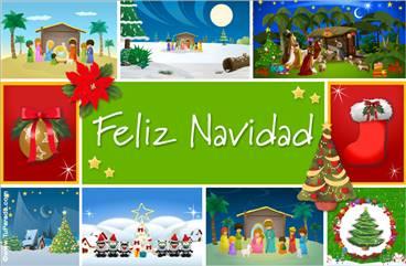 Tarjeta de Navidad especial