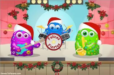 Banda de rock navideña