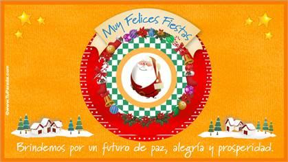 Tarjetas, postales: Navidad y Felices Fiestas
