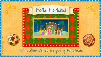 Tarjetas, postales: Pesebres navideños