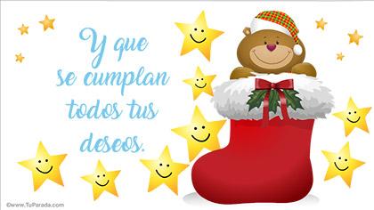 Tarjetas De Navidad En Español Postales Navideñas En Idioma