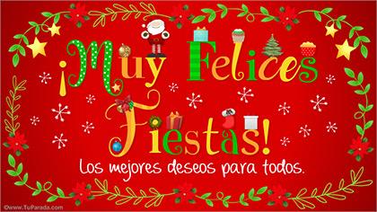 Tarjetas De Navidad Envía Una Tarjeta Navideña Más De