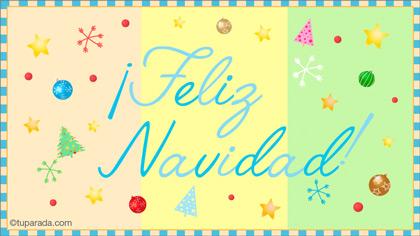 Tarjeta de Felices Fiestas Formales
