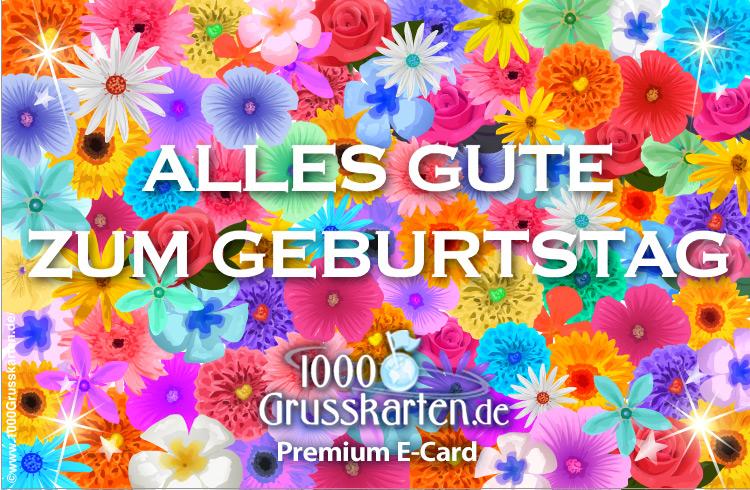 E-Card - Alles Gute zum Geburtstag