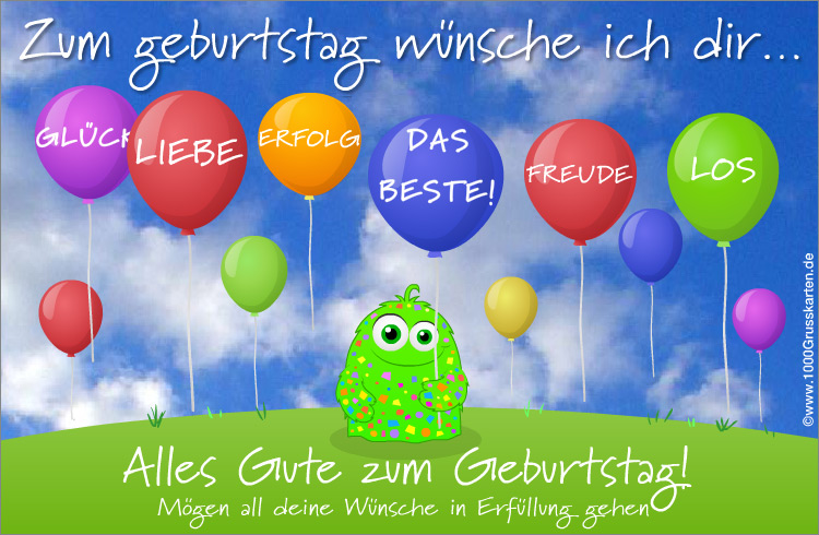 Animierte Geburtstagskarte Geburtstag E Cards