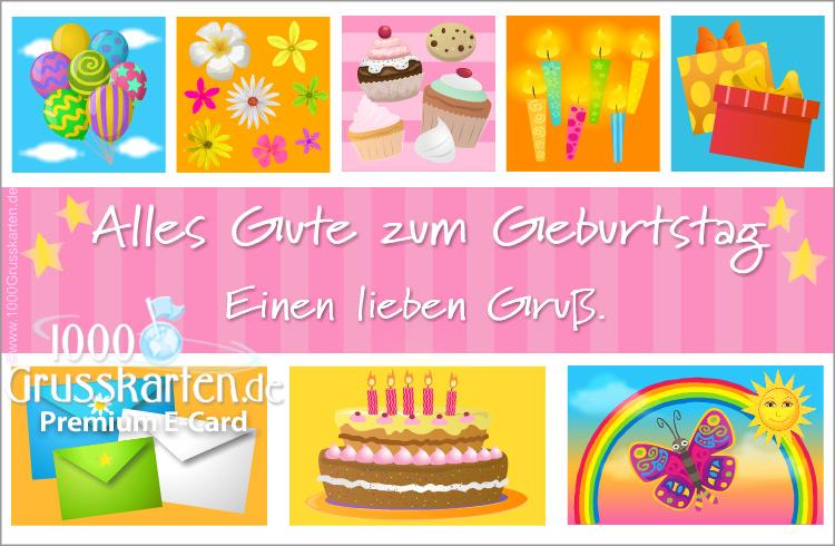 E-Card - Alles Gute zum Geburtstag E-Karte