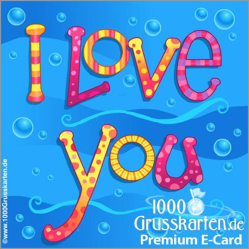E-Card - I love you