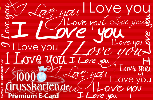 E-Card - I love you