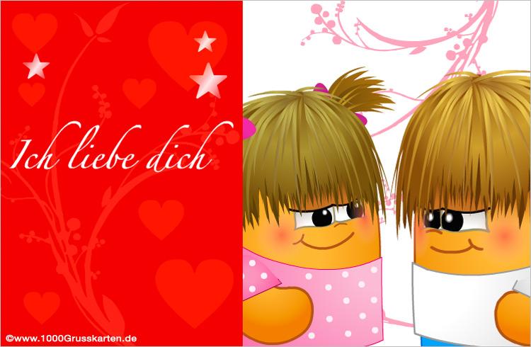 E-Card - Liebe E-Card zu teilen
