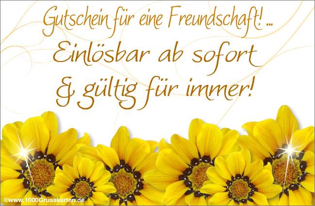 E-Card - Freundschaft