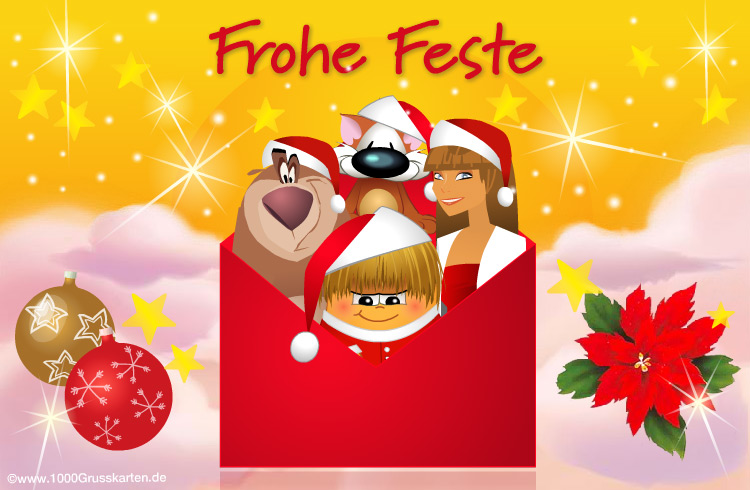 E-Card - Frohe Weihnachten