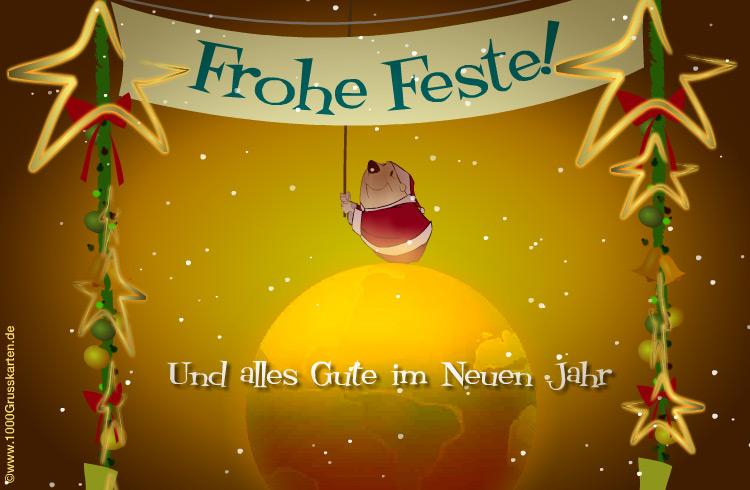 E-Card - Fröhliche Weihnachten E-Card