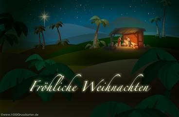 Fröhliche Weihnachten E-Card