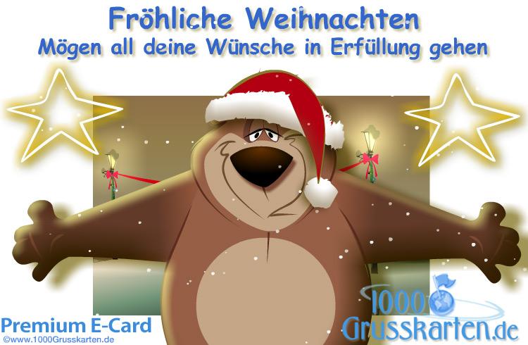 E-Card - Frohe Weihnachten E-Card
