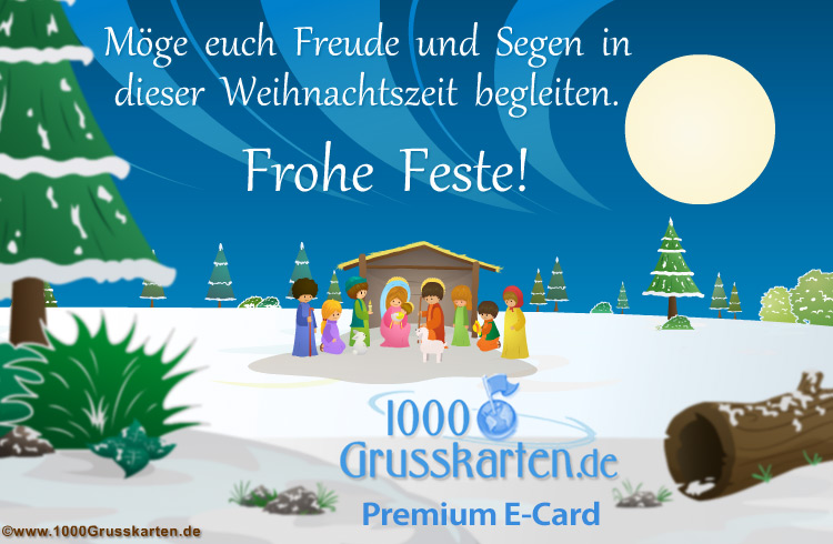 E-Card - Weihnachten E-Card