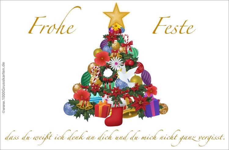 weihnachtskarte mit pinien und dove weihnachten e cards. Black Bedroom Furniture Sets. Home Design Ideas