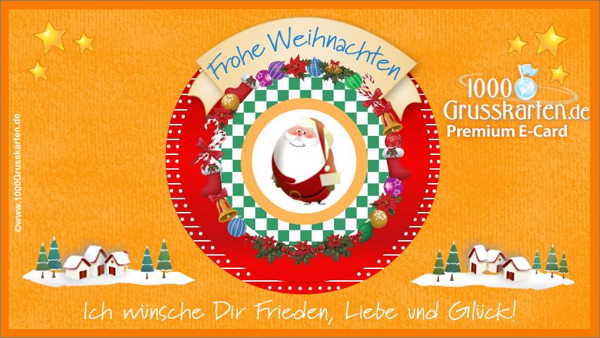 E-Card - Weihnachten EKarte