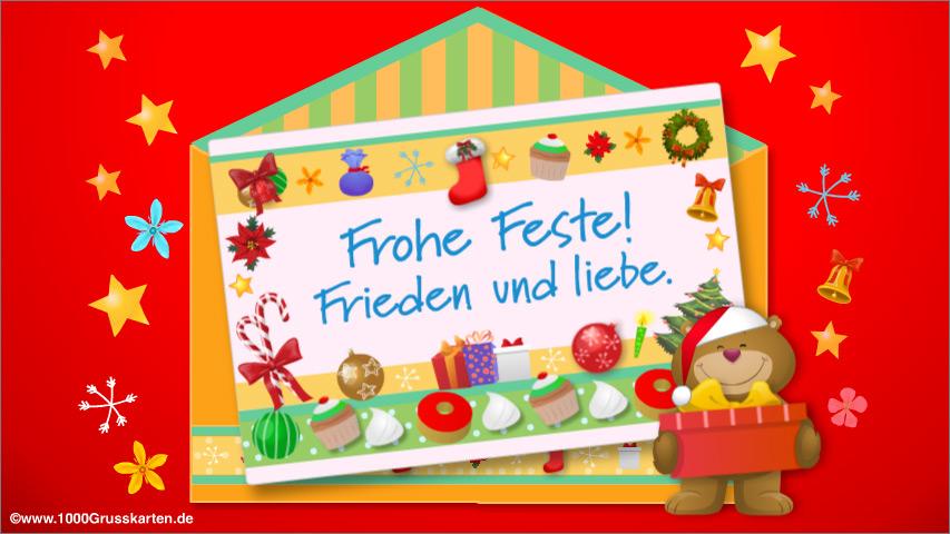 E-Card - E-Card zu Weihnachten