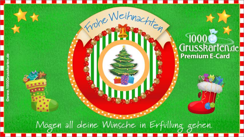 E-Card - Frohe Weihnachten EKarte