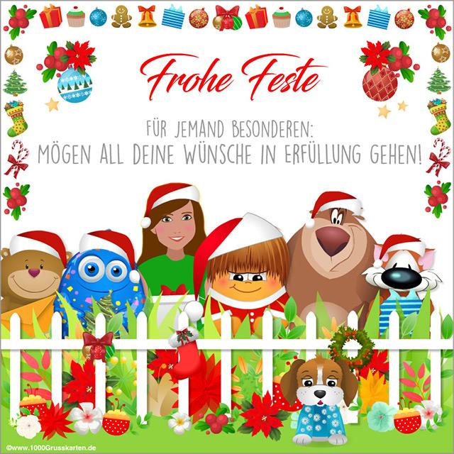E-Card - Weihnachts-E-Card von uns allen