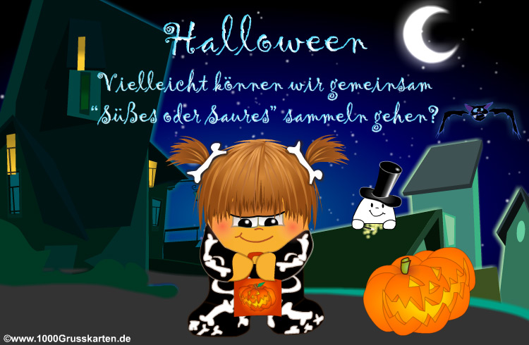 E-Card - Halloween E-Card