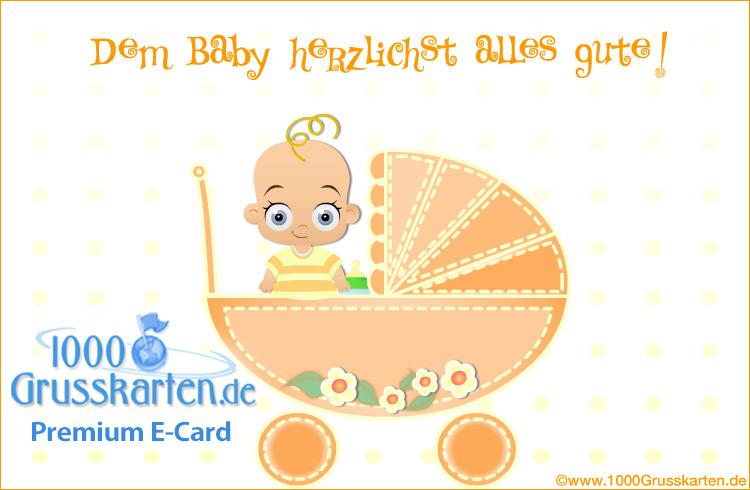 E-Card - E-Card zur Geburt
