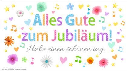 Jubiläen E-Card