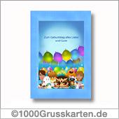 Druckbare Geburtstagskarte