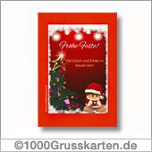 Schöne Weihnachtskarte