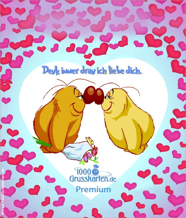 E-Card - Liebe Push-ûp E-Card