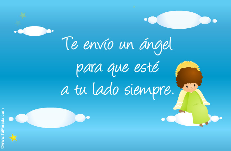 Tarjeta - Tarjeta de ángel