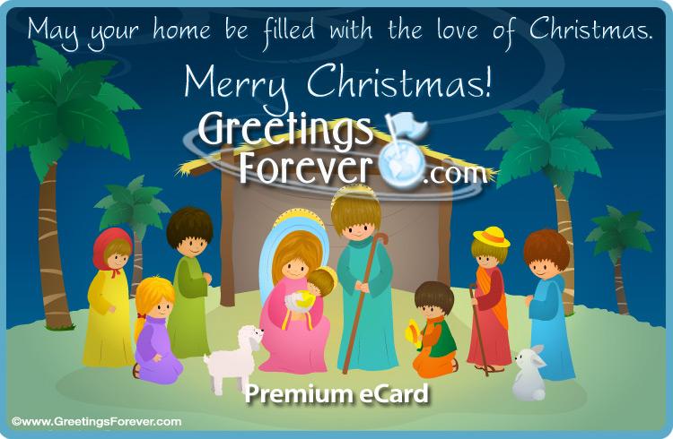 Ecard - Nativity ecard