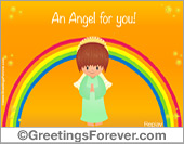 Angel's animated ecard