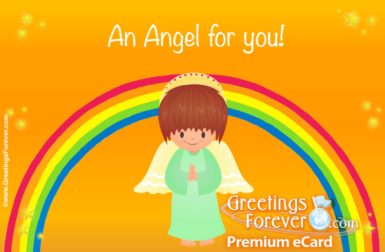 Ecard - Angel's animated ecard