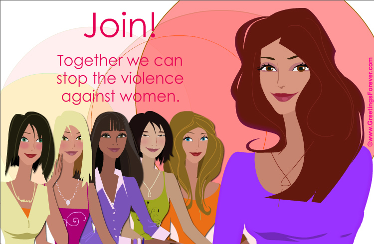 Ecard - Join eCard for women's rights