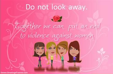 Women's rights ecard