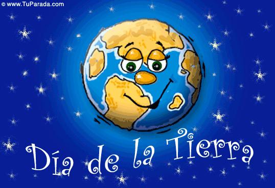 Tarjeta - Día de la Tierra