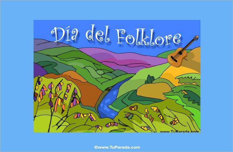 Ver fecha especial de Día Mundial del Folklore