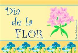 Día de la Flor.