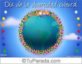 Tarjeta Día de la diversidad cultural