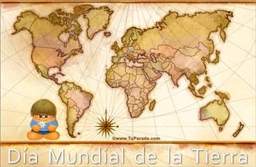 Tarjeta Día Mundial de la Tierra