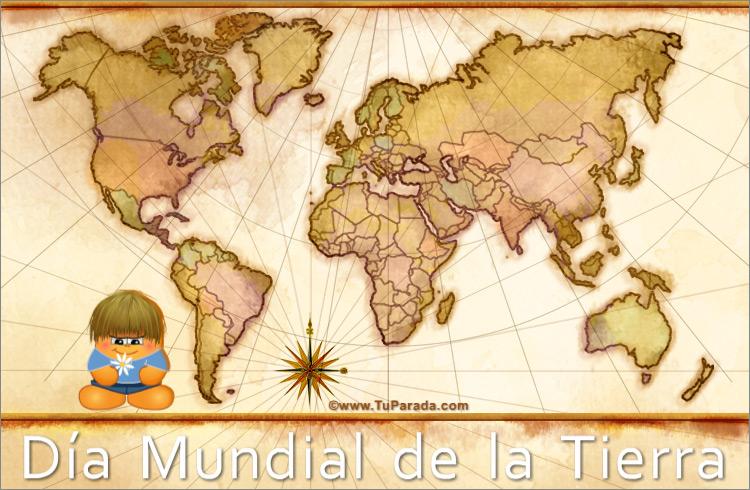 Tarjeta - Tarjeta Día Mundial de la Tierra