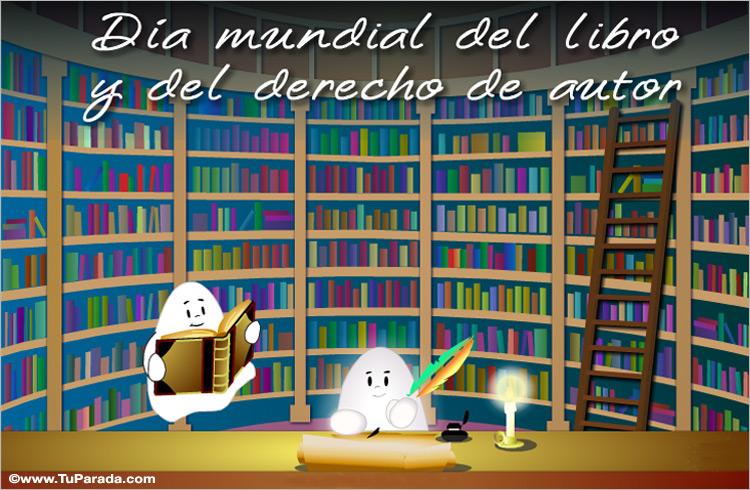 Ver fecha especial de Día mundial del libro y del derecho de autor