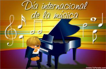 Día internacional de la música